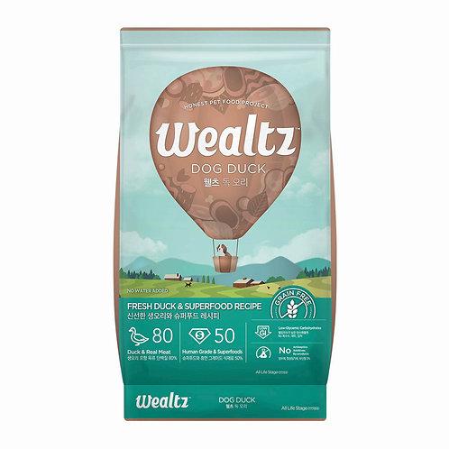 Wealtz 鮮鴨肉、超級食物 – 全犬配方 2.1kg