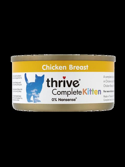 THRIVE 脆樂芙 幼貓 雞肉 貓主食罐頭 75g