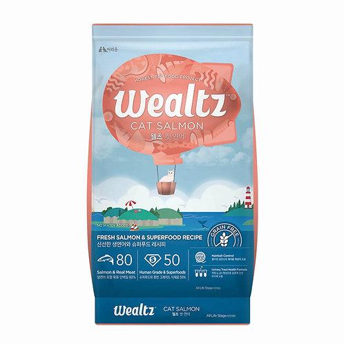 Wealtz 鮮三文魚、超級食物 - 全貓配方 6kg