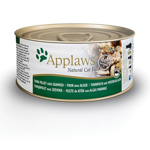 Applaws 天然成貓罐頭 -吞拿魚+紫菜 70g/ 156g