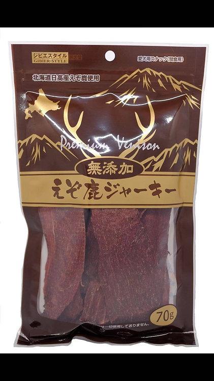 北海道無添加梅花鹿肉塊 70g