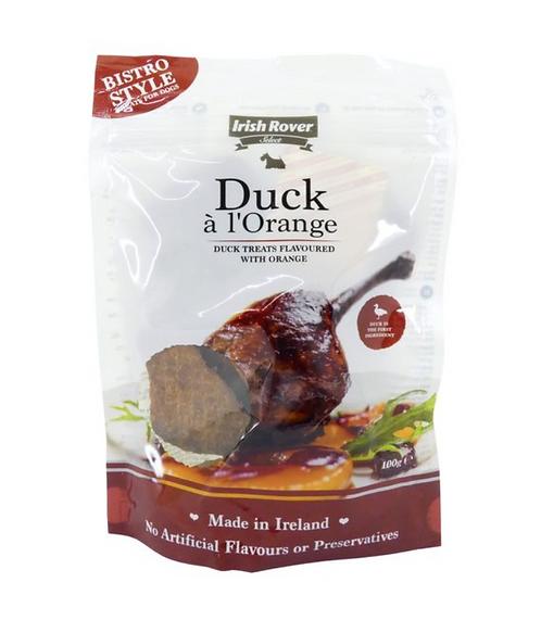 愛爾蘭天然小食- 鴨肉配甜橙 100g