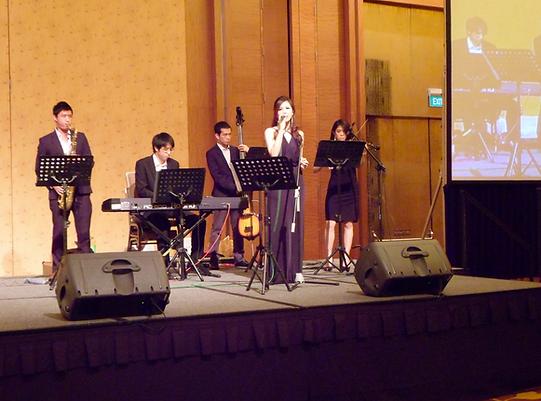 jazz band singapore