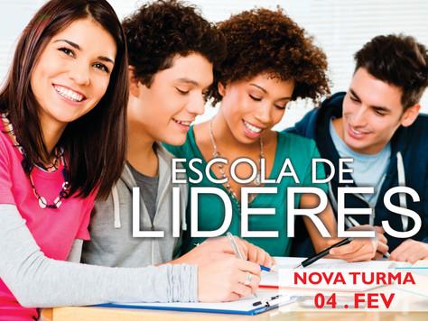 Escola de Líderes - FEVEREIRO/AGOSTO