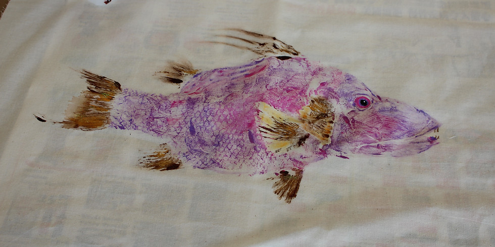 Painting with a Fish