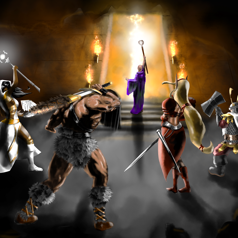 Dungeons of Hope: Virtual