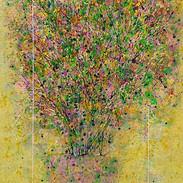 12 나무의 노래 41x 32cm acrylic on canvas 2019,2020