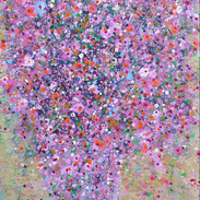 나무의 노래 41x 32cm acrylic on canvas 2019