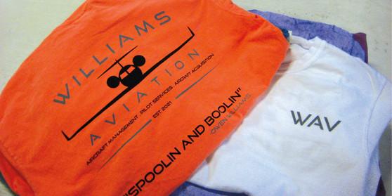 Williams Aviation Tees