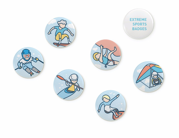 Extreme Sports Badges