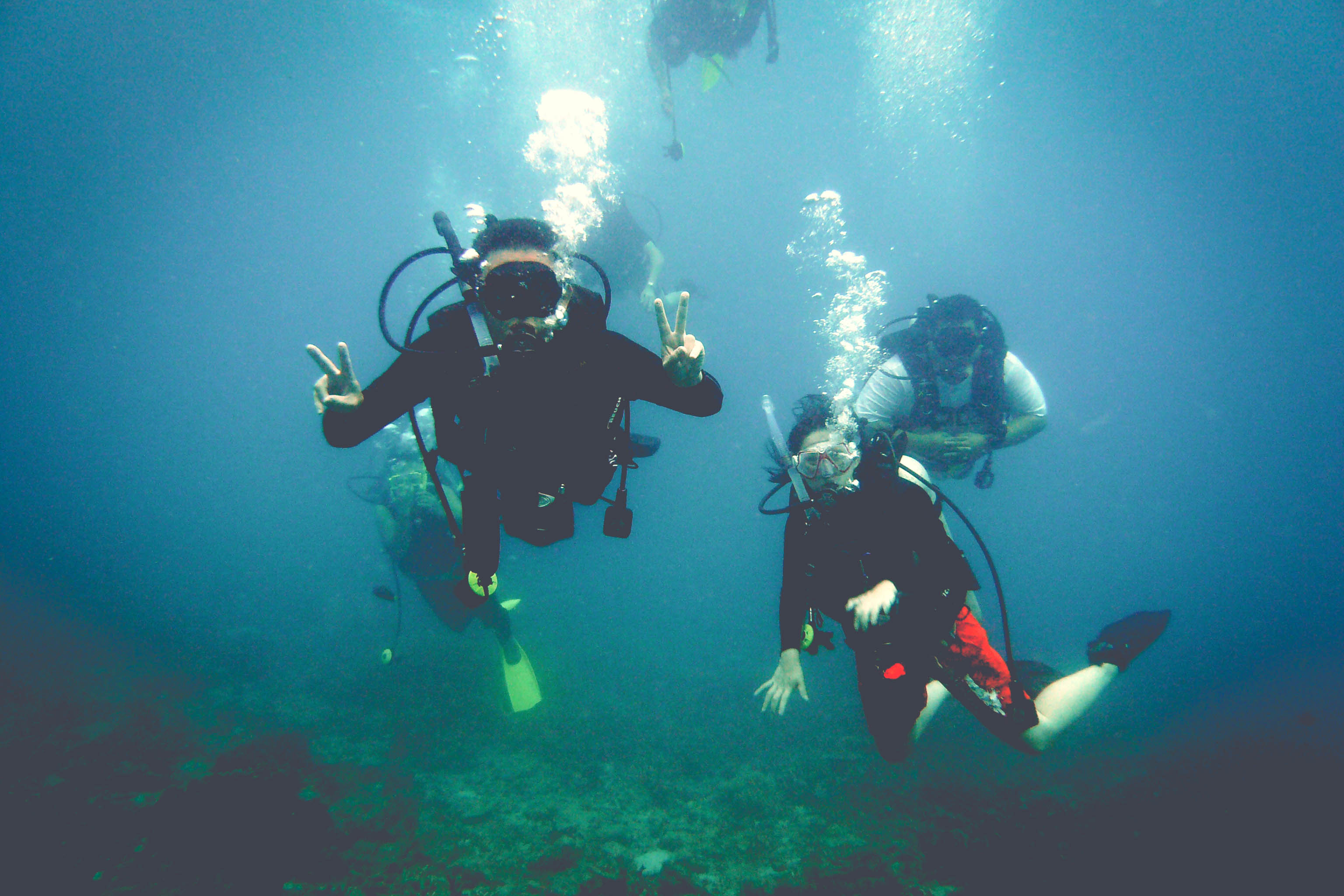 Diving at Soyak Island