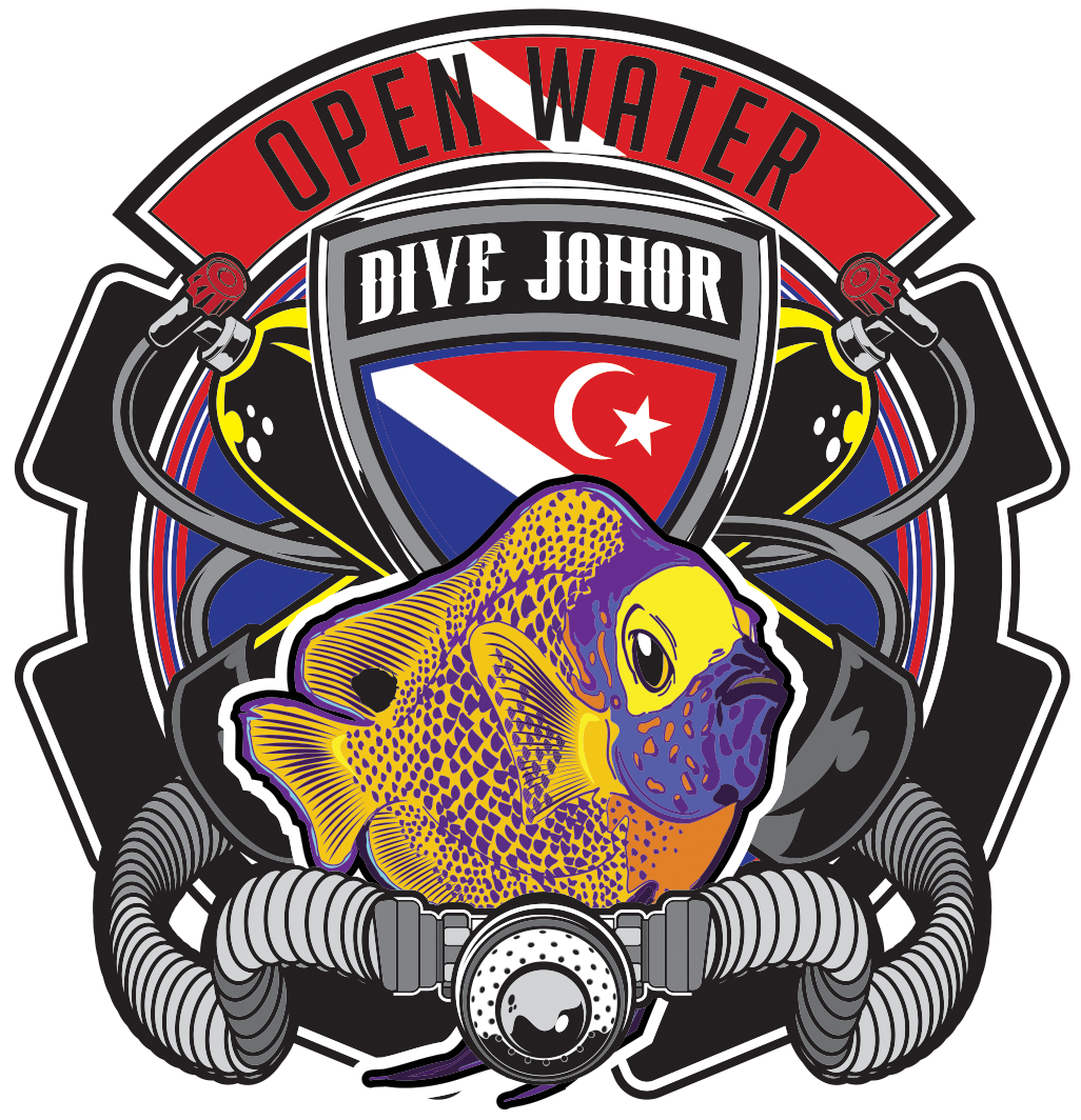 #Divejohor TEAM ANGELFISH