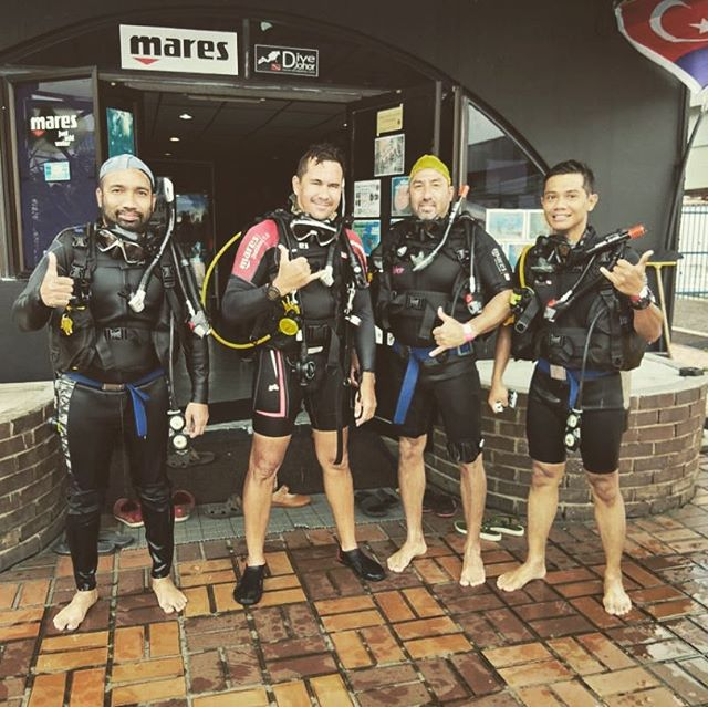 #divejohor _#expatdiving_#padiopenwaterdiver _#gettingready