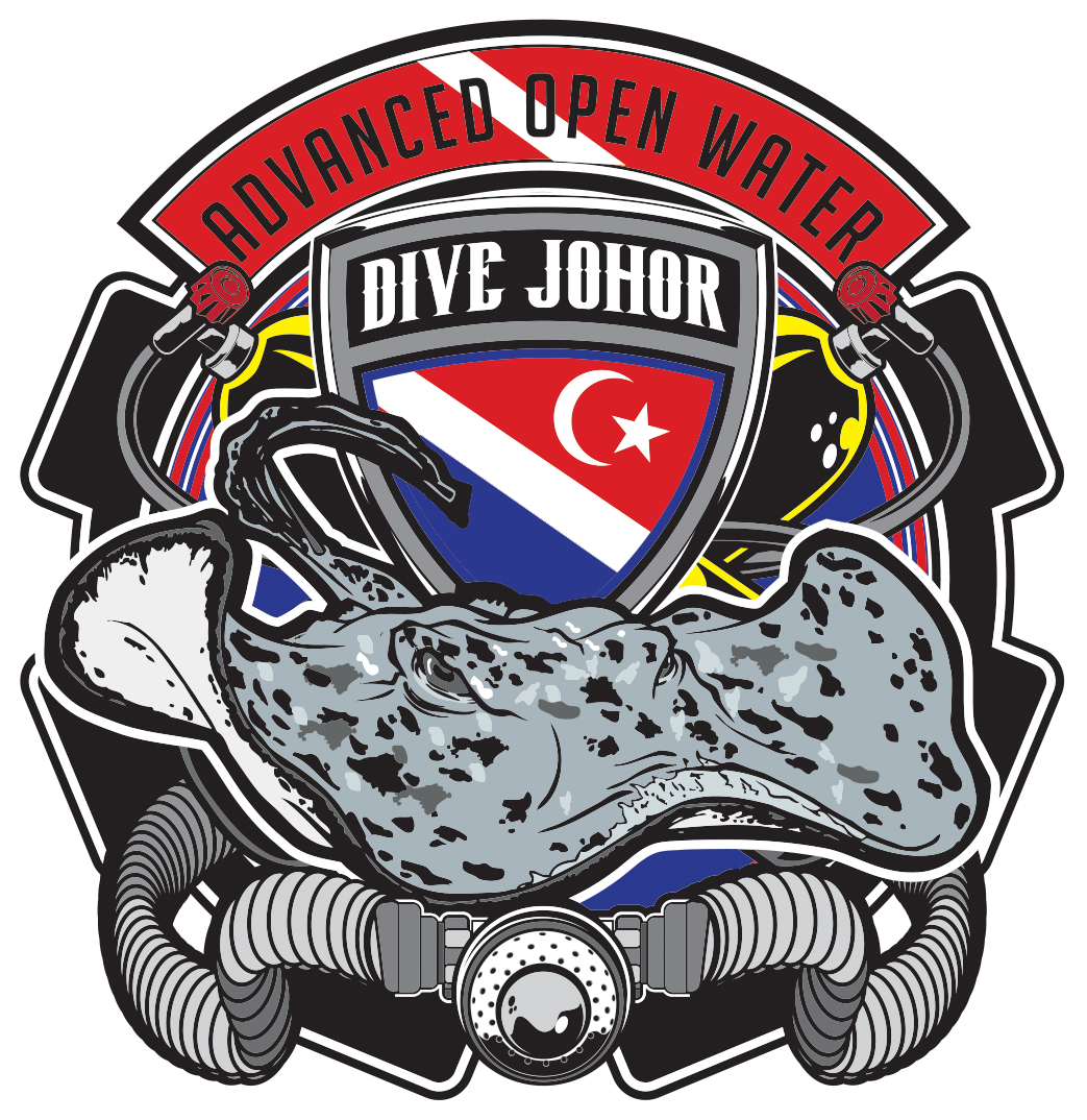 #Divejohor TEAM MARBLE RAY