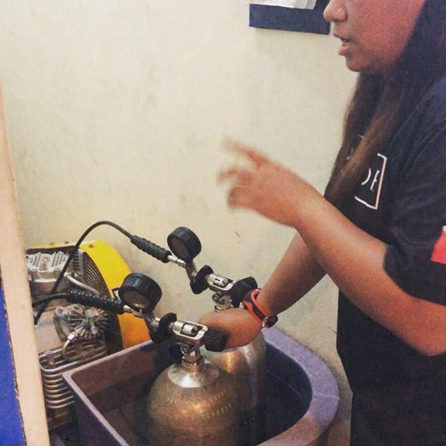 #divejohor _#predivemastertraining _#scubacompressoroperation_#daimanjohorjayasportscomplex _#earnyo