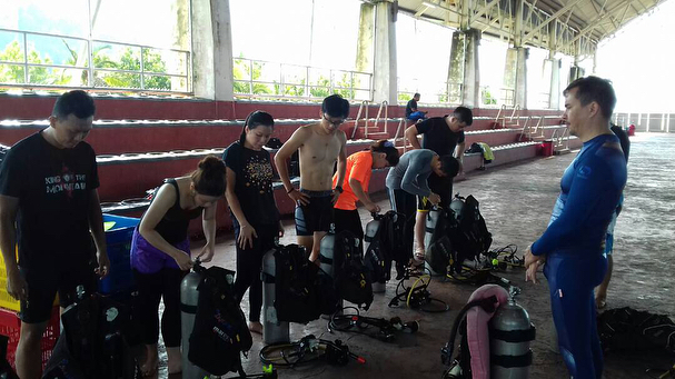 #divejohor _#divepenang_#openwatercourse _#mystudentsfromthenorth_#letsdothis _#teachingscubasince90