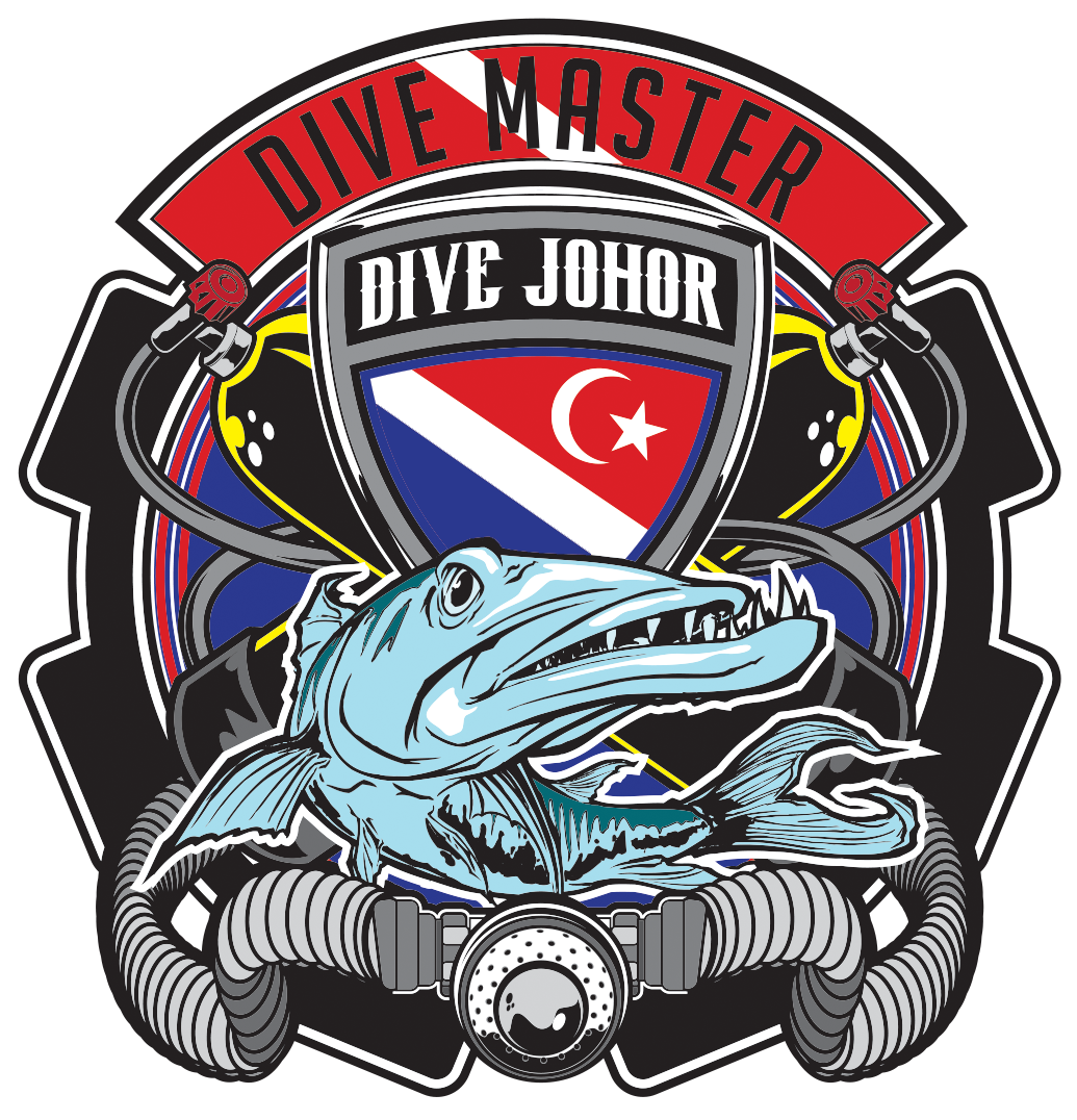 #Divejohor TEAM BARRACUDA