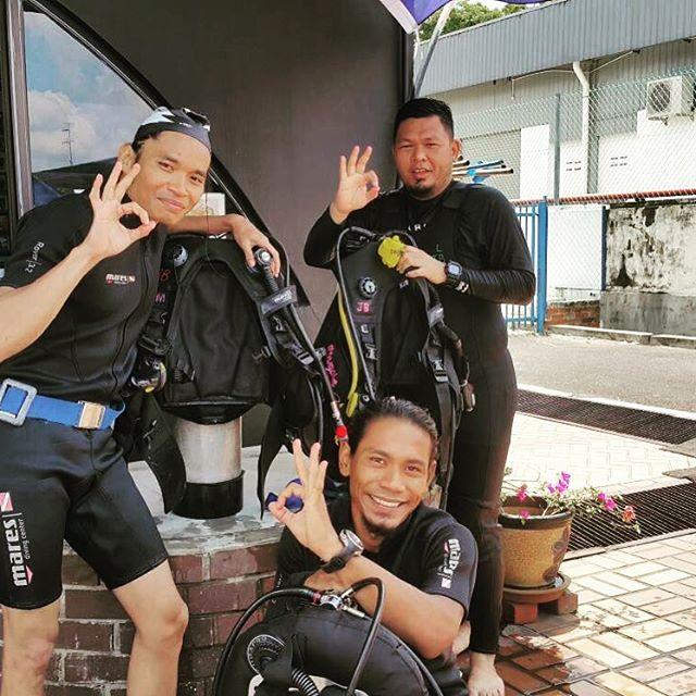 #divejohor _#discoverscuba _#daimanjohorjayasportscomplex _#newadventure_#belumtrybelumtau _#bangsaj