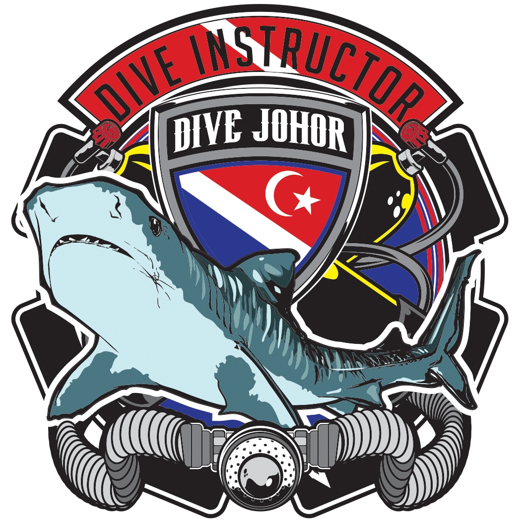 #Divejohor Team Tiger Shark