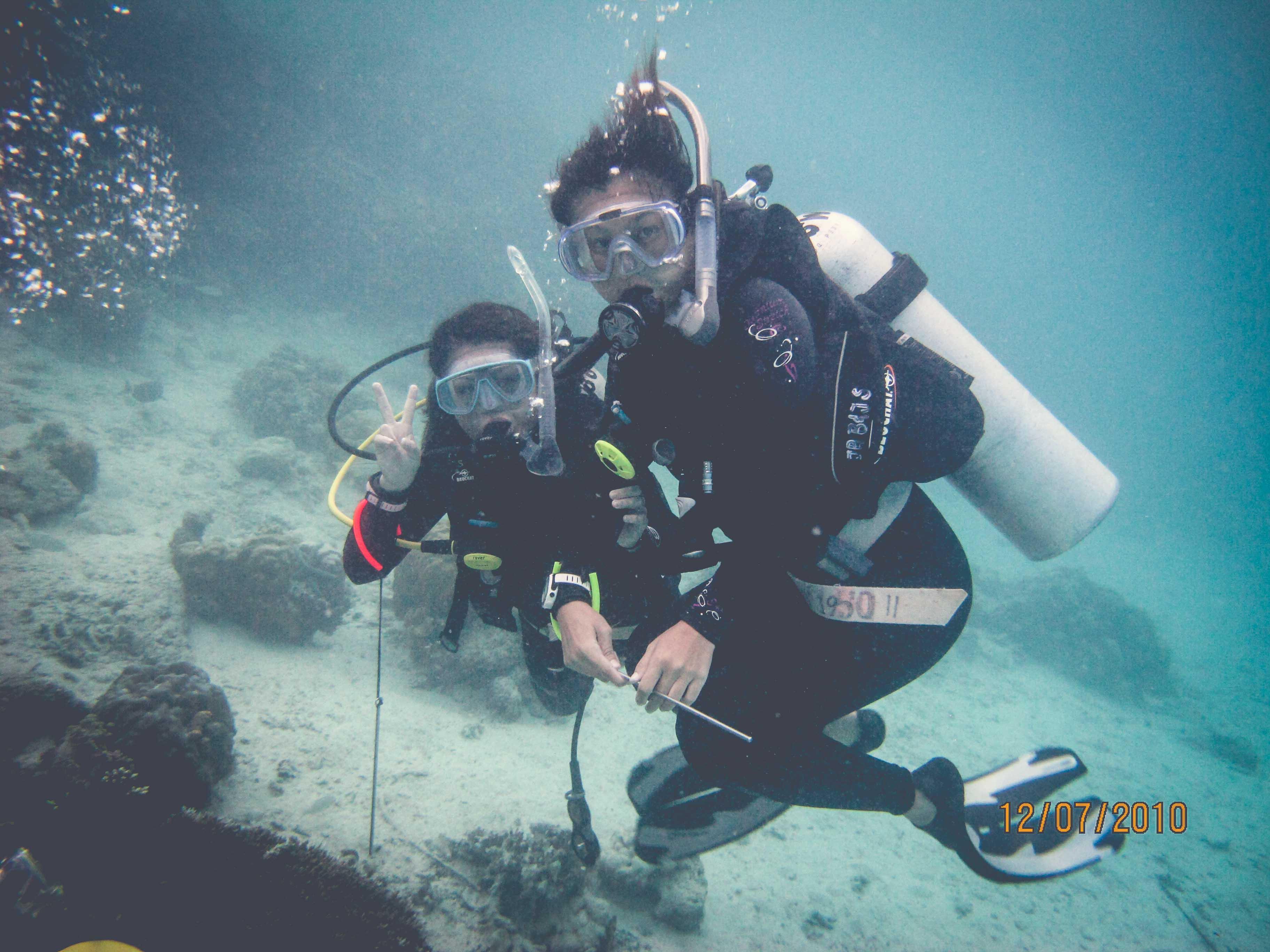 Divers at Sipadan