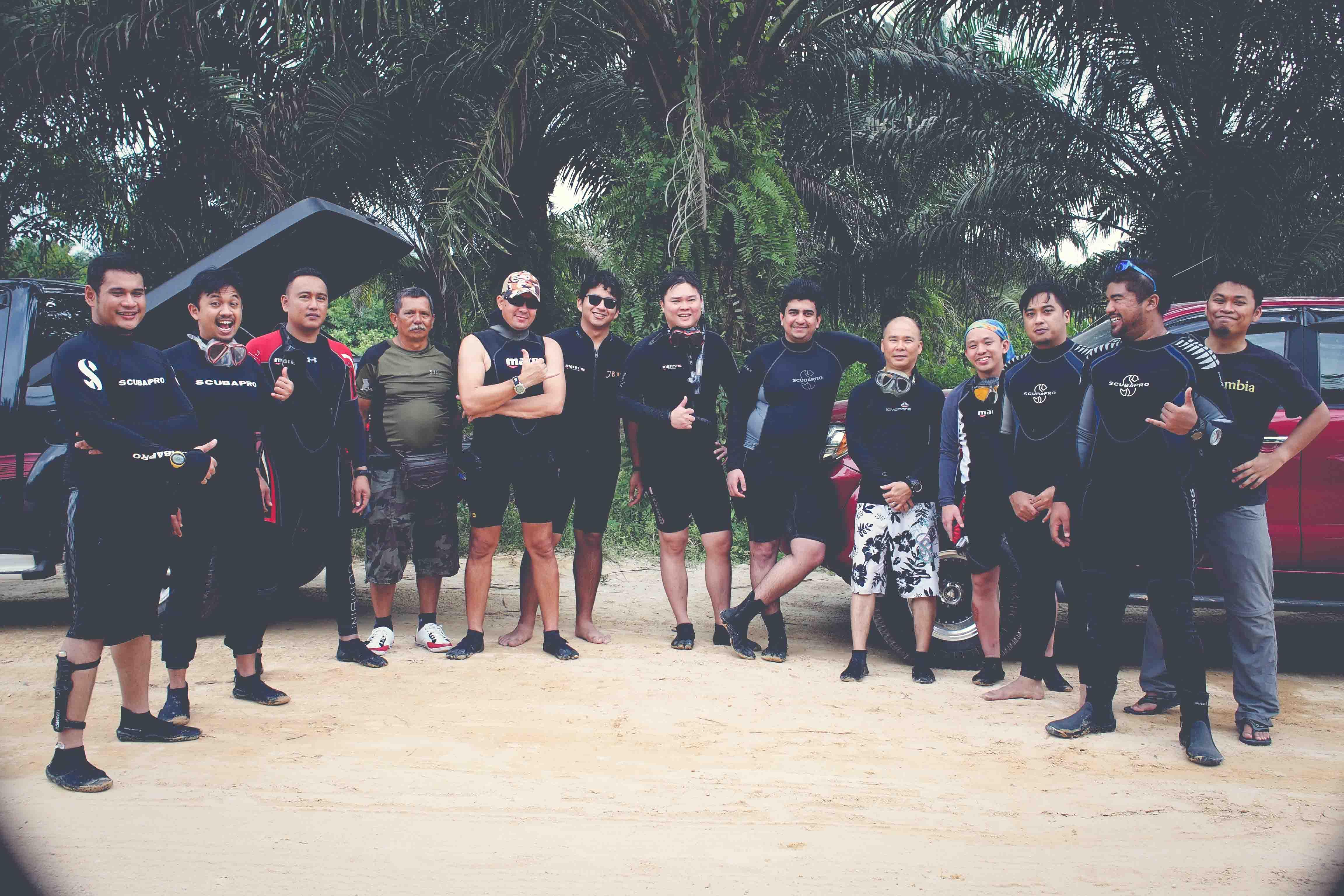 Divejohor Team Members