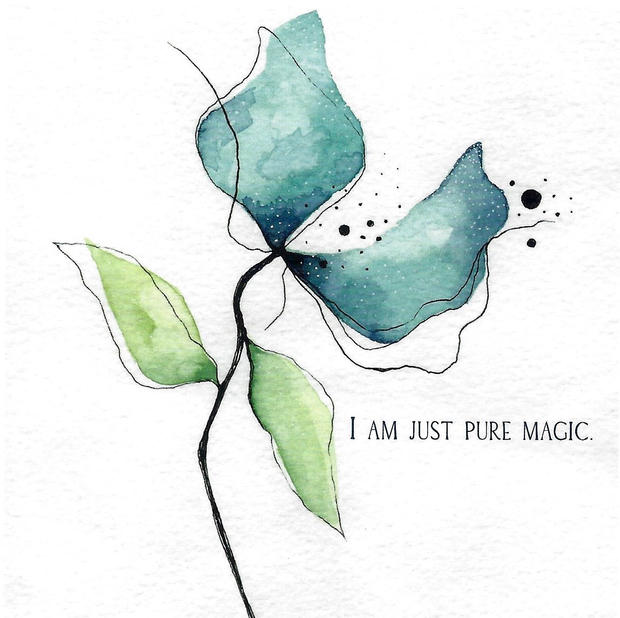 I am just pure magic.