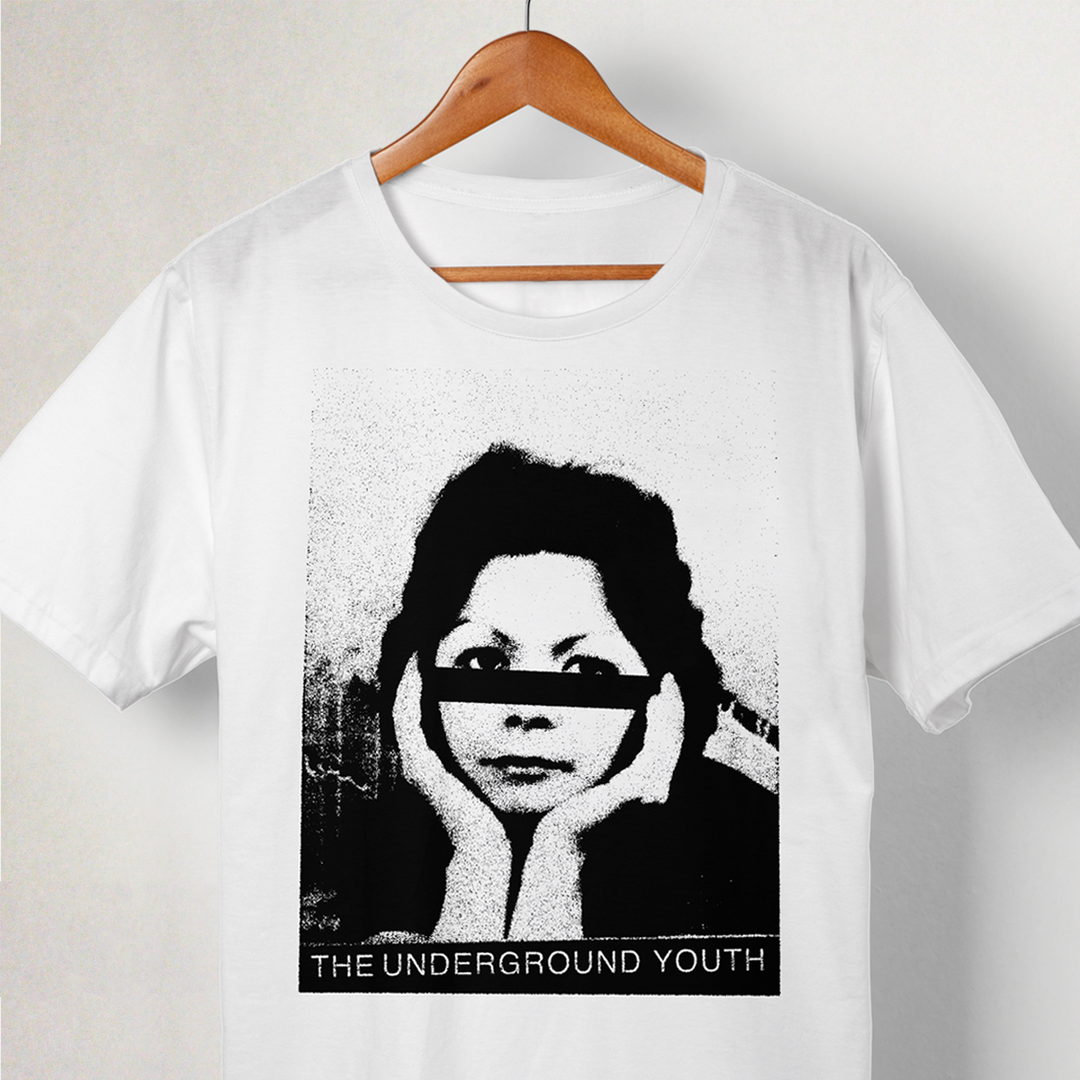 The Underground Youth T Shirt -Face Stri