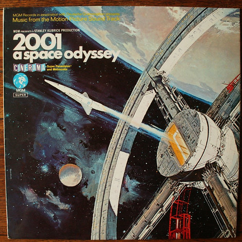 Various Composers - 2001 A Space Odyssey (The Motion Picture) 1970, UK