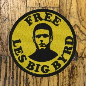 Les Big Byrd - Black And Yellow, Embroid