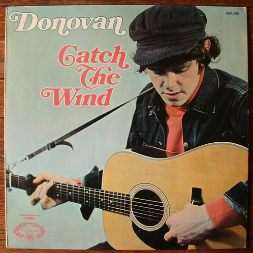 Donovan - Catch The Wind, 1971, UK (Translucent Red Vinyl)