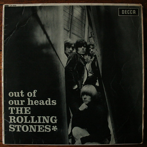 The Rolling Stones - Out Of Our Heads, 1965, UK