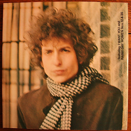 Bob Dylan - Blonde On Blonde, 1991, UK
