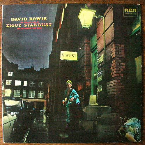 David Bowie - Ziggy Stardust & The Spiders From Mars, 1980, UK