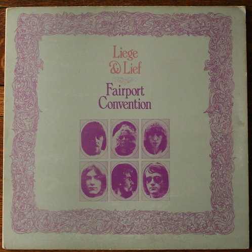 Fairport Convention - Liege On Lief, 1969 UK
