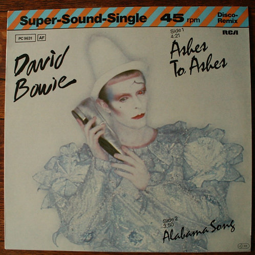 "David Bowie - Ashes To Ashes (12"" Single) 1980, Germany"