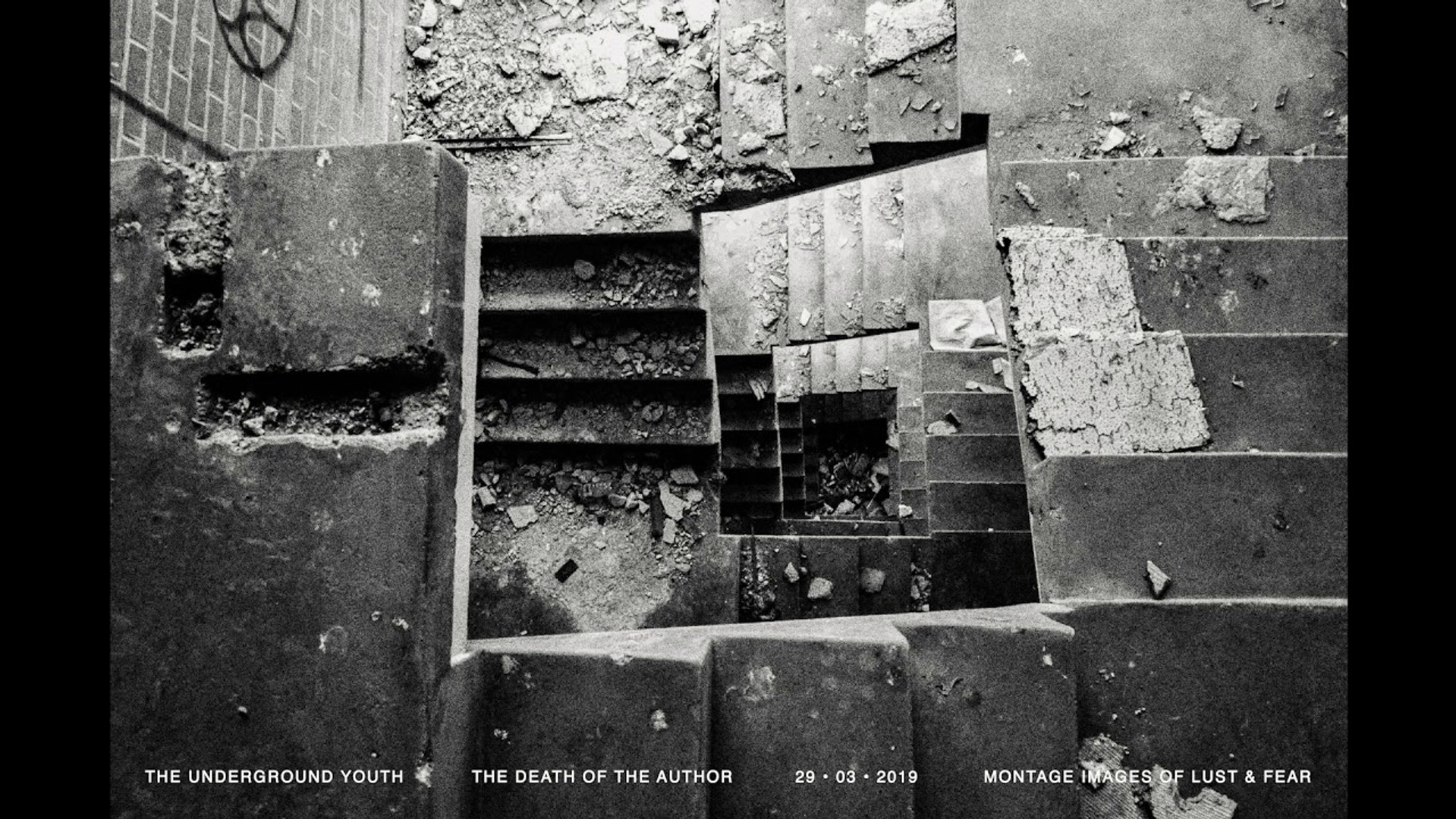 The Underground Youth - The Death Of The Author
