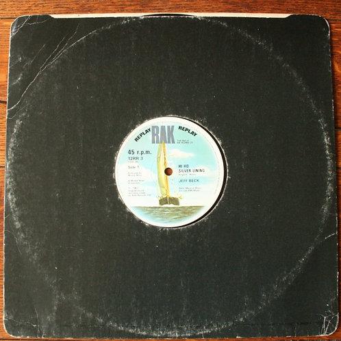 "Jeff Beck - Hi Ho Silver Lining (12"" Single) 1982, UK"