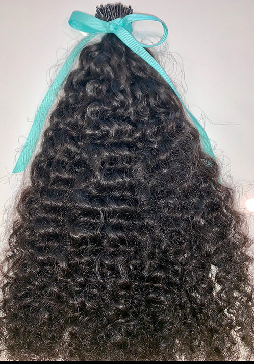 Indian Tight Curl I-Tips