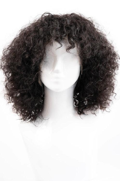 Burmese Tight Curl Frontal Wig