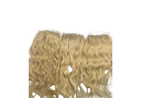 Cambodian Blonde Wavy Closure