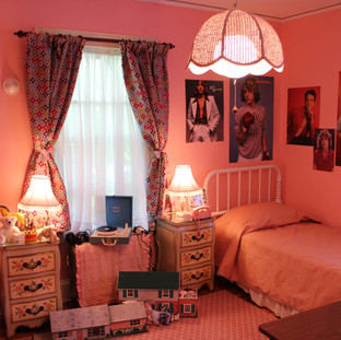 1970s House Pink Bedroom