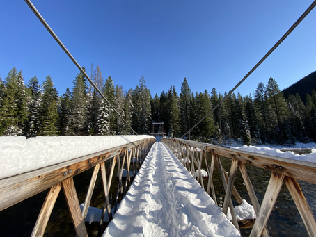 Jerry Johnson Hot Springs - Our Second Snowy Stop on our Winter Hot Spring Tour!