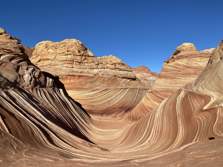 A Guide to getting Permits and Hiking The Wave in Coyote Buttes North