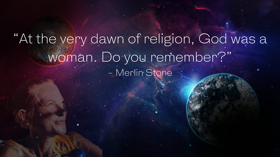 """""""At the very dawn of religion, God was a woman. Do you remember"""".png"""