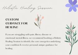 Holistic Healing Session