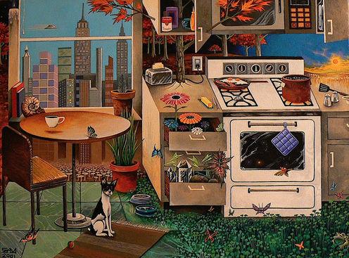 Kosmo in the Karma Kitchen