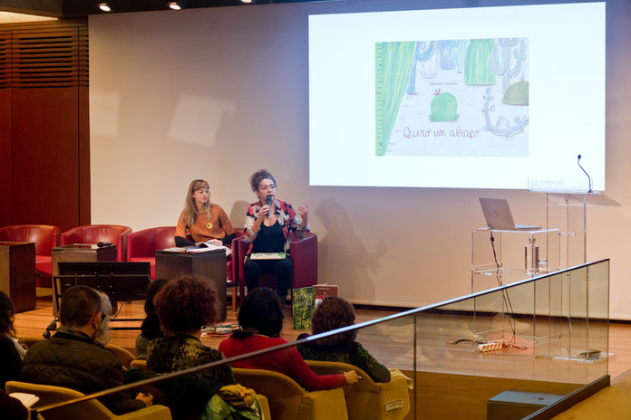 Opening conference: 'In favor of bibliodiversity.' Keynote speech Carla Oliveira.