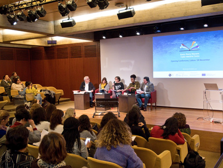 Working on inclusion together: this was the Every Story Matters kick-off conference in Lisbon!