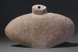 Grooved Flask