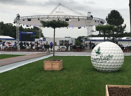 "Magic Sky bei den ""Porsche European Open"""